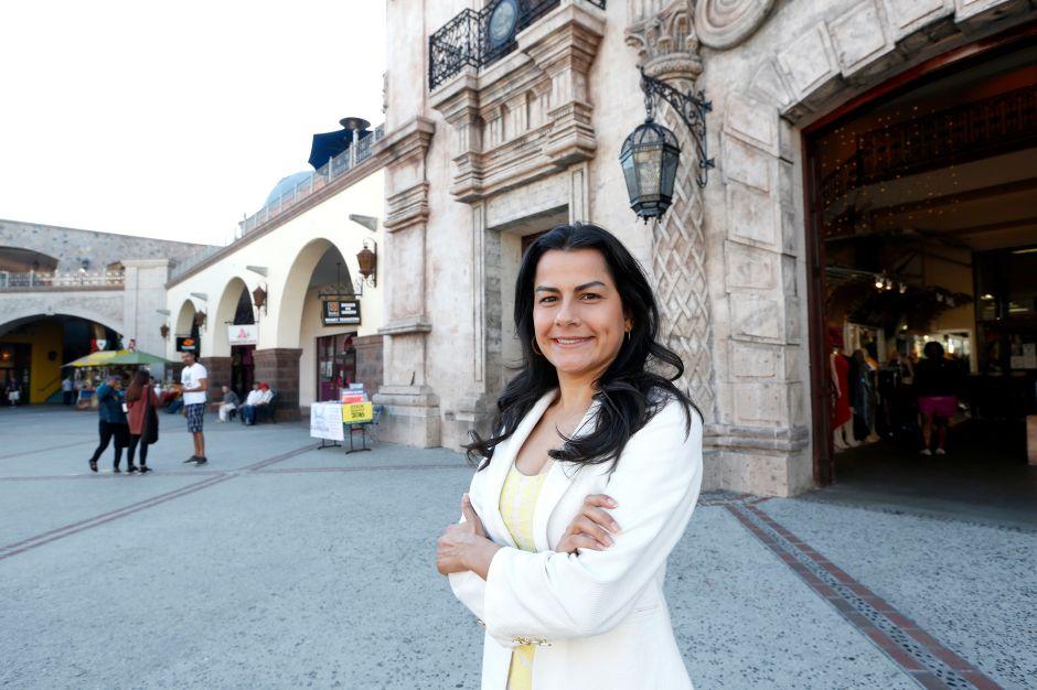 Congresswoman Barragan smiles for the camera