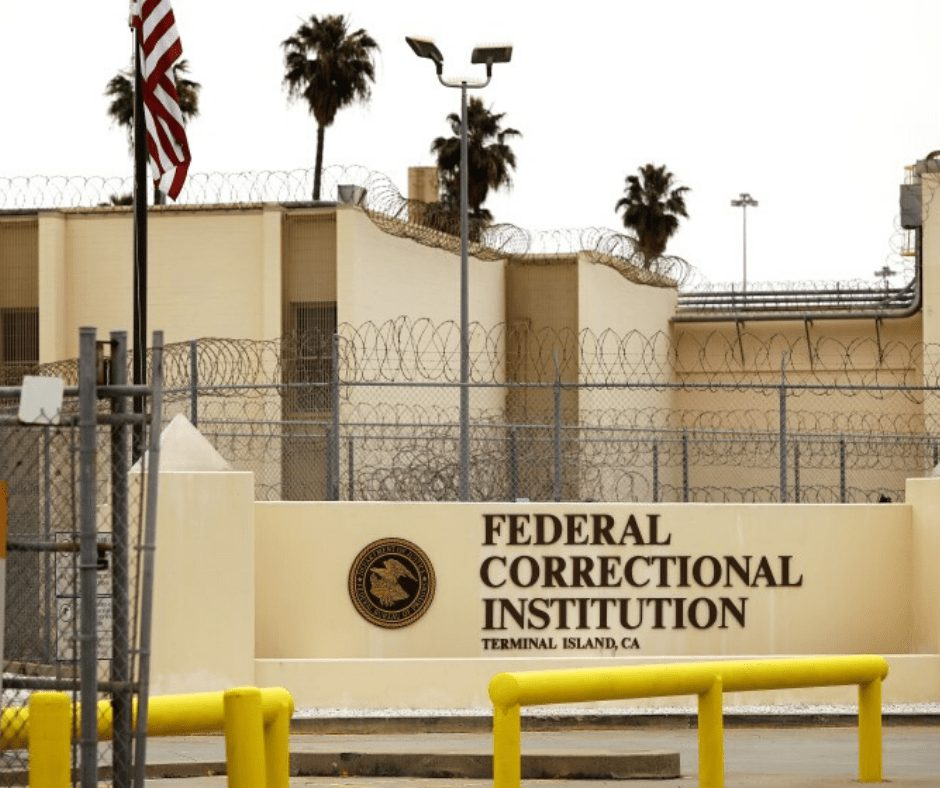 Federal Prison Terminal Island from outside