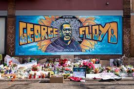 Mural for George Floyd